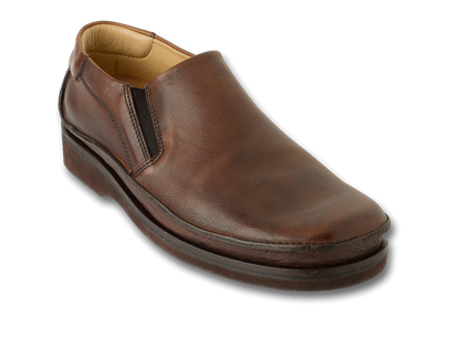 Clatstop Brown Smooth Leather Mens Loafer