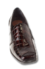 Nome Brown Glass Croc Womens Shoe