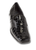 Nome Black Glass Croc Womens Shoe
