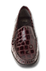 Madras Burgundy Glass Croc Womens Shoe