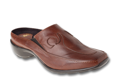 Namu Brown Leather Womens Shoe