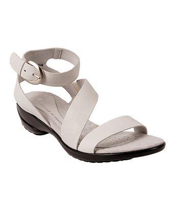 Pico White Sandal