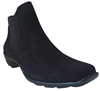 Naya Suede Black Booties