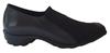 Black Stretch Fabric Shoe
